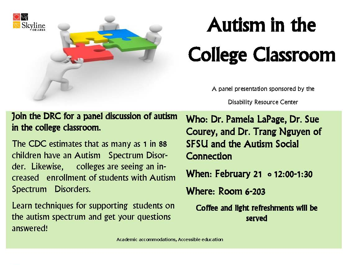 college essays on autism Research: overview of autism home » for professionals » research:  there are autistic adults who graduate from college and receive graduate degrees.